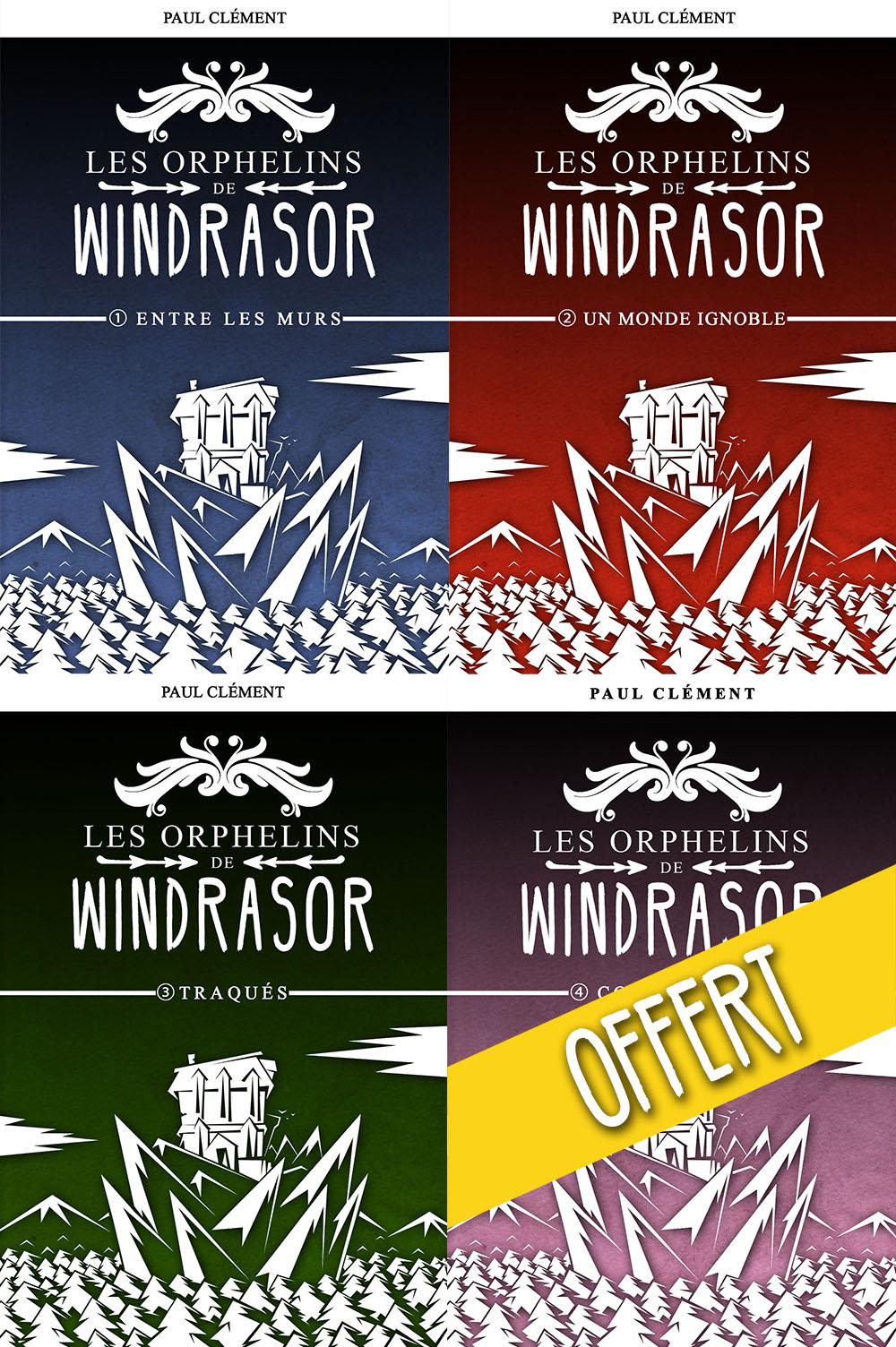 Les Orphelins de Windrasor (épisodes 1 à 4)