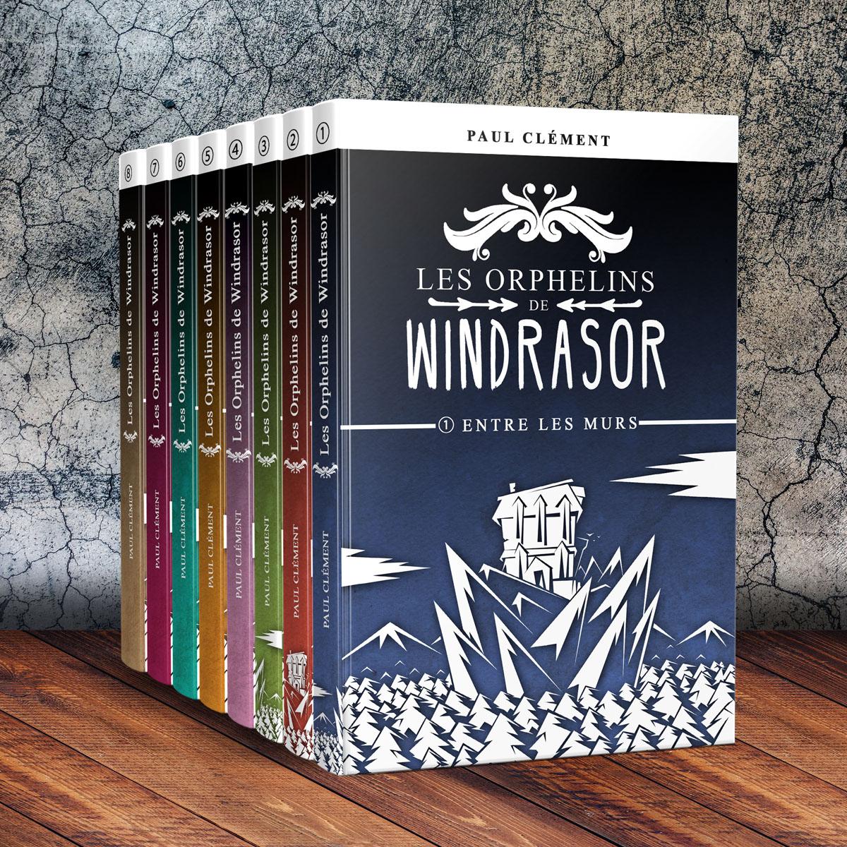 Couverture : Les Orphelins de Windrasor épisodes 1 à 8